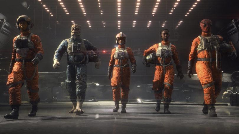 系列新作《星球大战:中队》支持PS VR、PC VR平台,主打多人对战