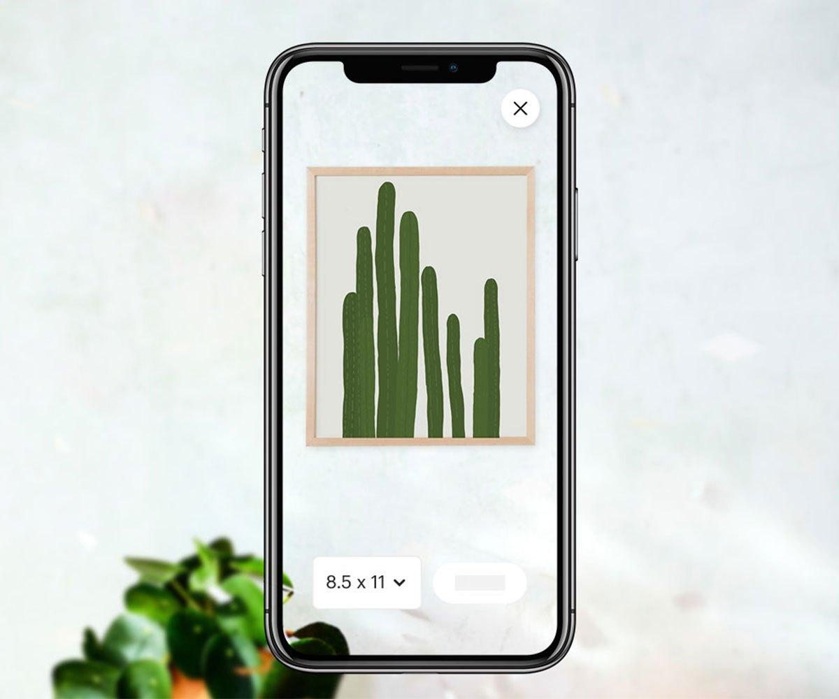 创意手工品电商平台Etsy为其APP加入AR功能,以助消费者可视化购物