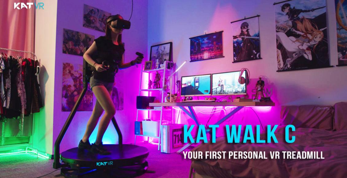VR跑步机KAT Walk C在Kickstarter发起众筹,24小时内达成100万美元