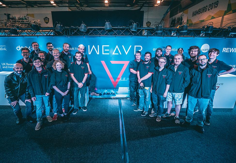 Weavr:MR+AI将是颠覆现有电竞观看的关键技术