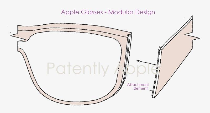 苹果AR眼镜新专利:采用模块化设计,可更换组件定制功能