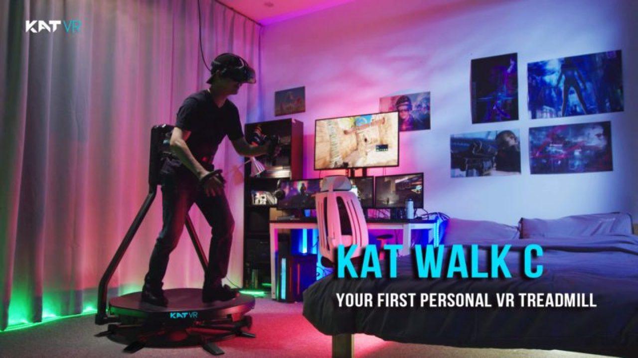 KAT Walk C VR跑步机在Kickstarter众筹金额超120万美元