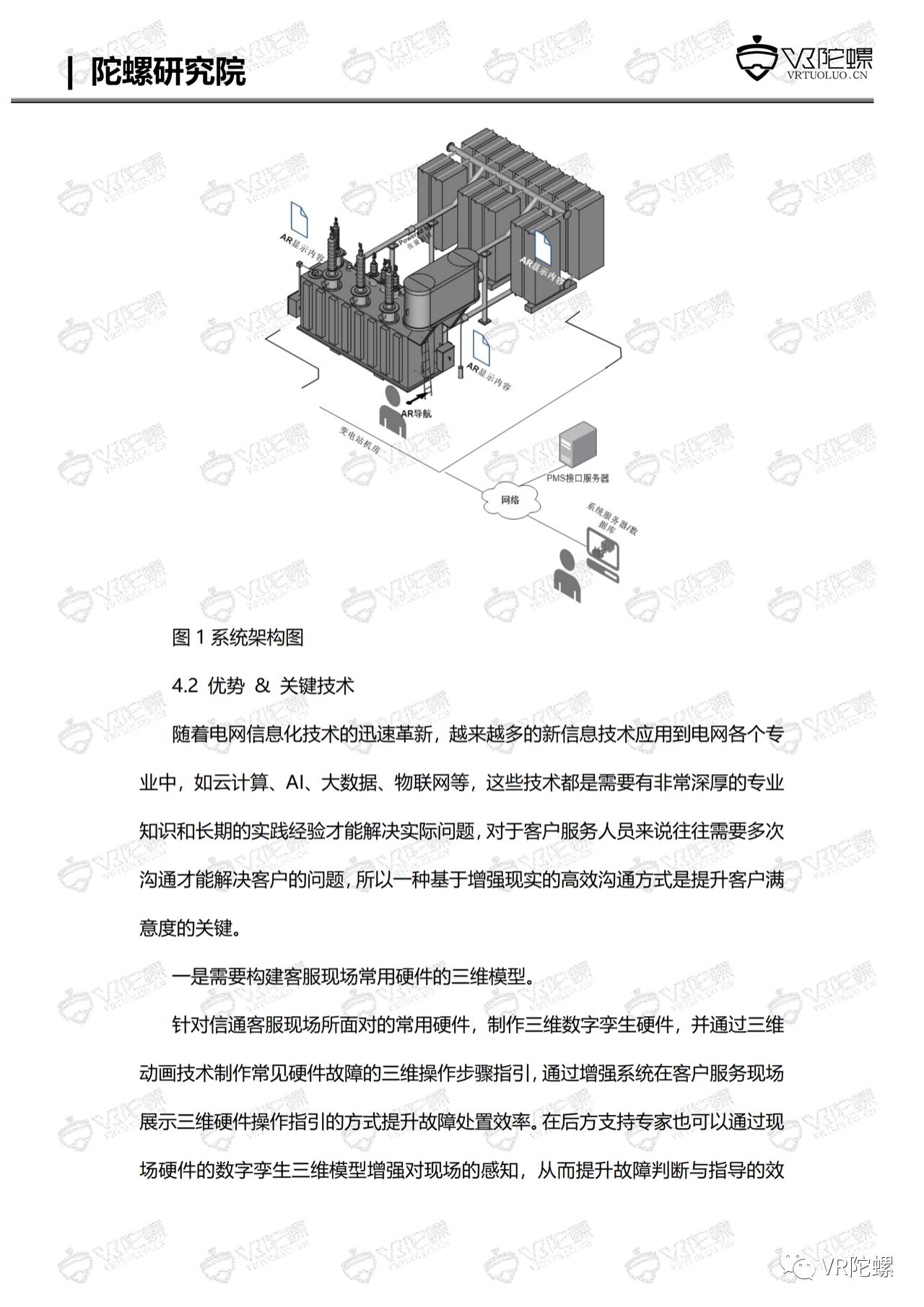 陀螺研究院XR行业应用案例集 | MR+智慧电站巡检