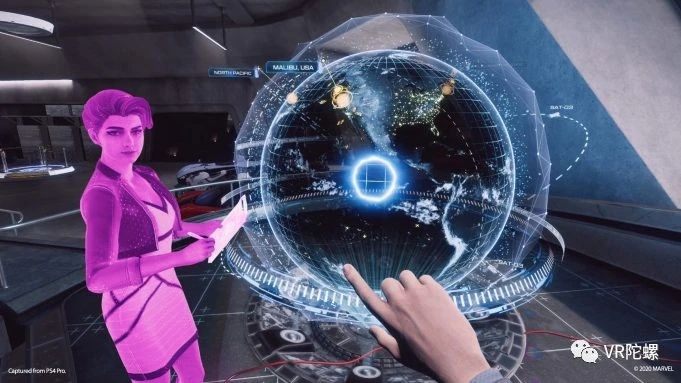 索尼PS VR, 钢铁侠,钢铁侠VR,VR游戏