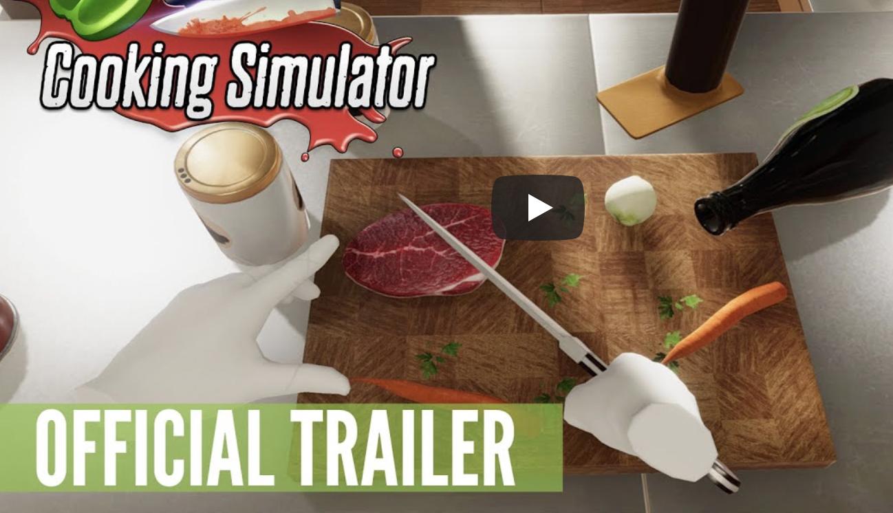 《料理模拟器》将于2020年Q4上线SteamVR