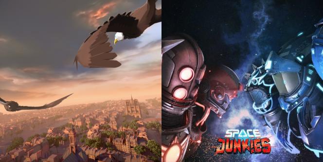 助力复工复产,育碧两款VR游戏《化鹰》和《太空镖客》面向街机厅限时免费提供