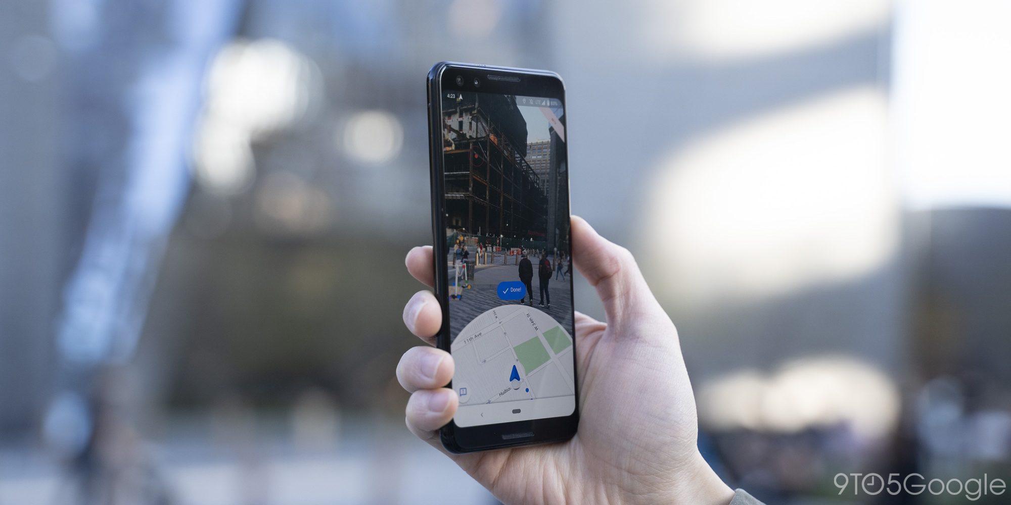 谷歌地图推出Live View功能,通过AR实时校准用户准确位置