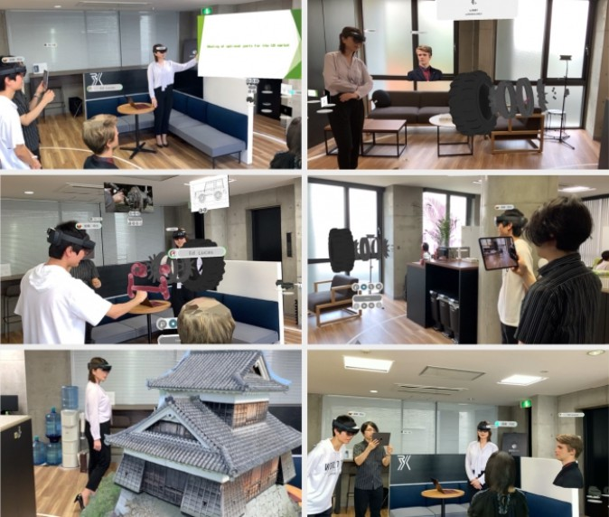 日本Nankoku R Studio公司发布MR远程会议系统WHITEROOM,即日起免费使用!
