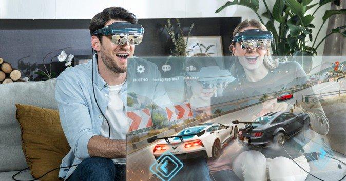 """创业公司DreamGlass发布4K分辨率AR头显""""Dream Glass 4K"""",众筹不足一周已筹集超22万美元"""