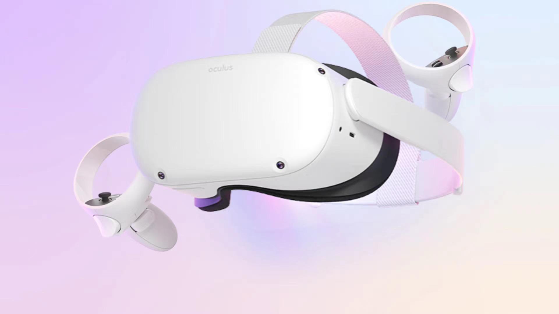 Quest2头显产品图遭泄漏:主体白色、头戴无弹性侧边、手柄形状向Touch看齐