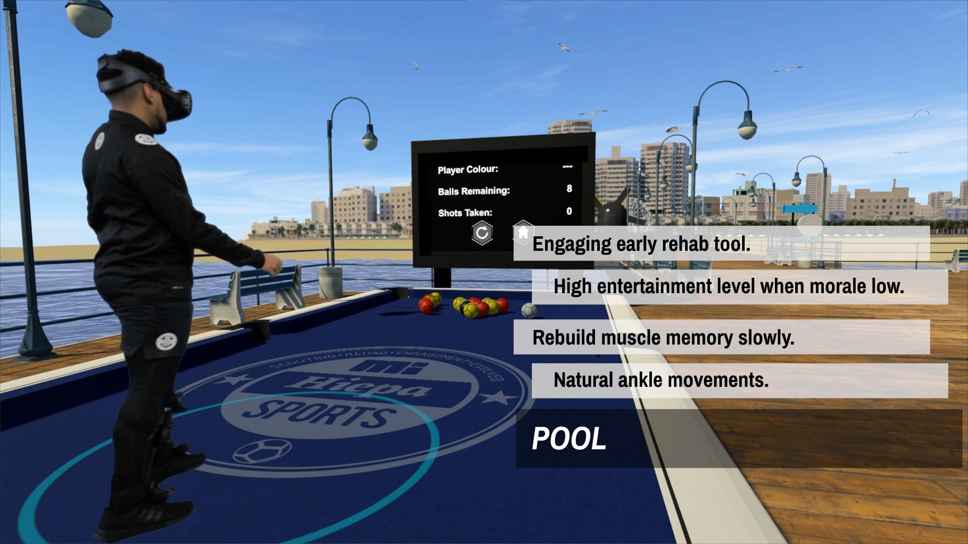 VR电竞,足球训练
