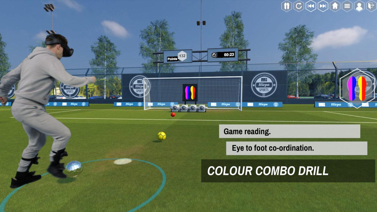 VR与电竞相结合,将帮助训练出下一代足球巨星!