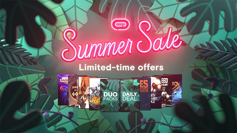 Oculus夏季优惠活动,Rift和Quest平台多款经典VR游戏降价促销