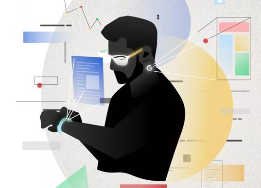 谷歌的可穿戴设备野心:全新智能眼镜与VR控制器