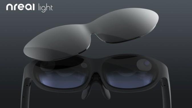 新品发布在即?Nreal推特曝光疑似新款AR眼镜图片