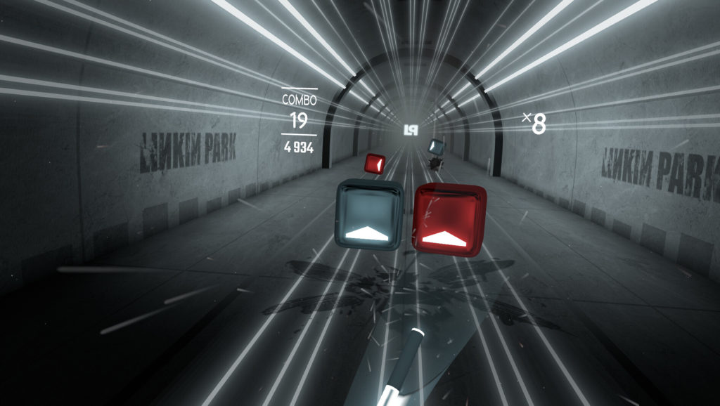 《Beat Saber》新增Linkin Park音乐包,包含11首经典歌曲和配套场景