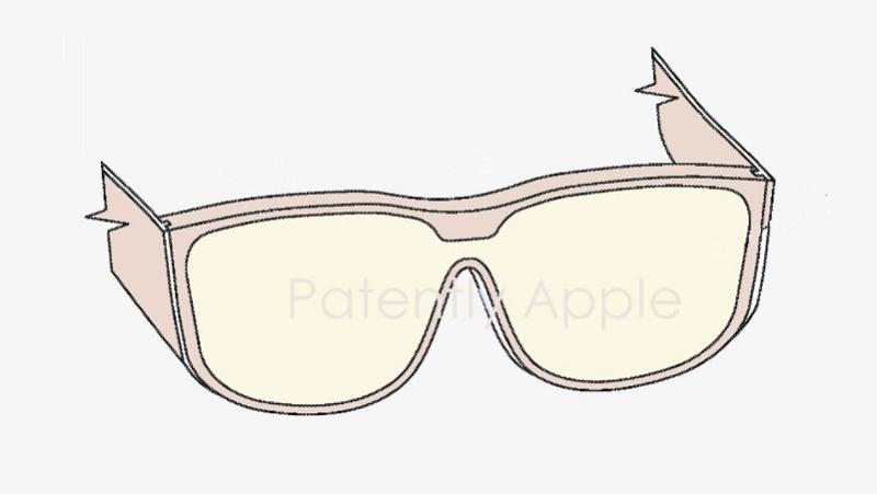 苹果两款MR眼镜相关专利曝光:可切换AR/VR模式,含注视点追踪控件