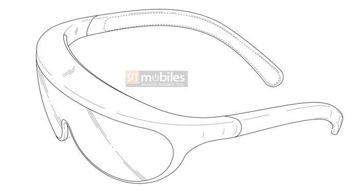 三星AR眼镜新专利曝光其外形设计,形似普通眼镜