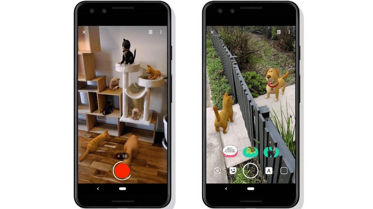 谷歌终止Pixel手机中的AR贴纸功能Playground