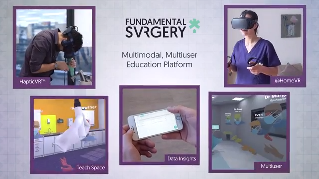 VR医疗培训平台FundamentalVR宣布推出多人线上虚拟教室功能