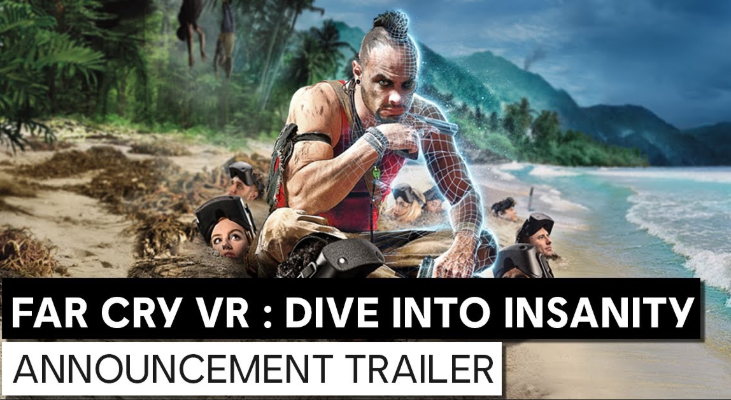 《孤岛惊魂VR:潜入疯狂》将于明年登陆Zero Latency VR 游戏厅