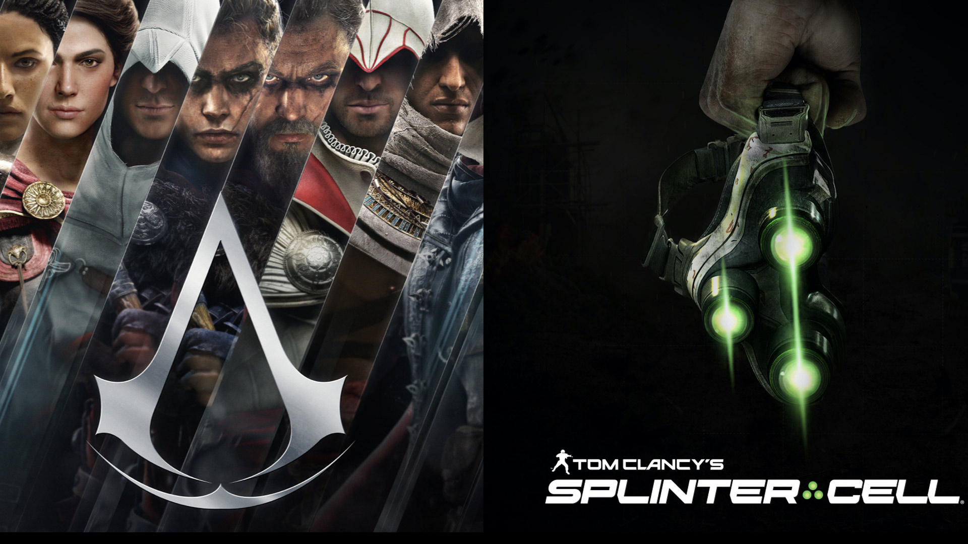 《Assassin's Creed & Splinter Cell》(刺客信条:分裂细胞)