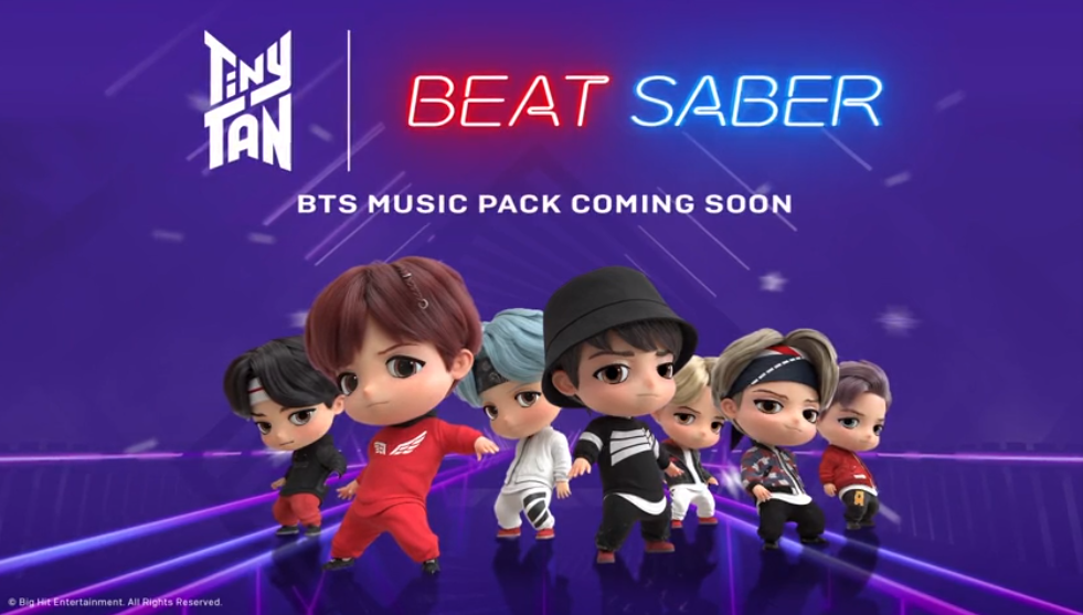 Beat Saber Multiplayer Mode & BTS Music Pack