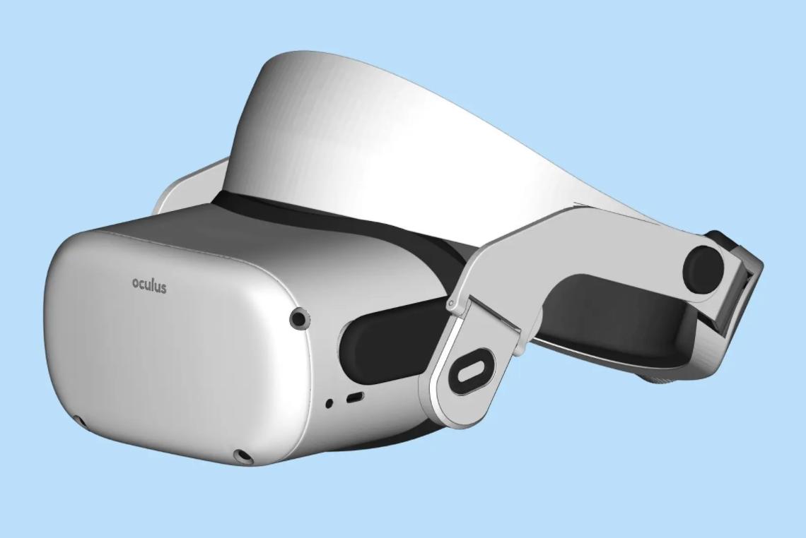 为Oculus Quest 2设计的光环头带,将于下个月揭晓