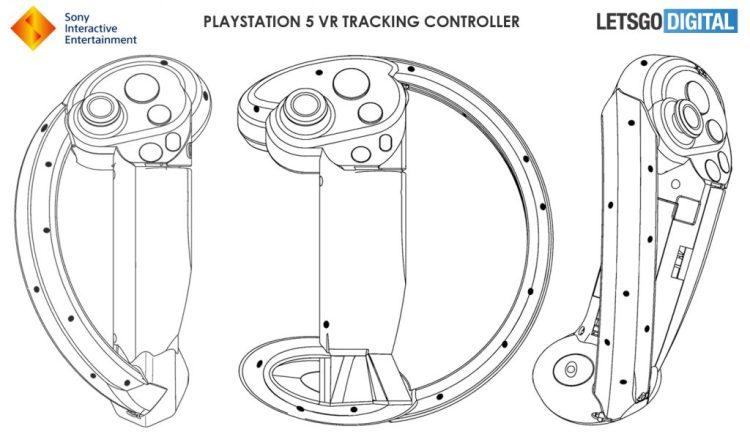 专为PS5设计,索尼新一代VR控制器专利曝光