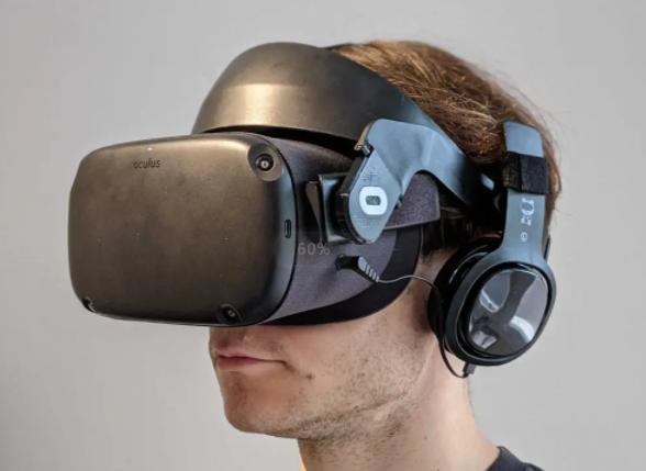 Oculus Quest光环头带测评:价格低,舒适度尚可