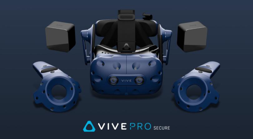 HTC Vive Pro Secure:一款具有专业级安全性能的VR头显