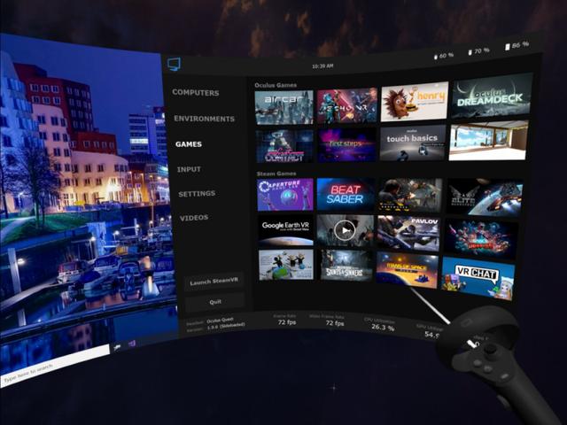 《虚拟桌面》无线串流更新,显著减少了微闪烁现象