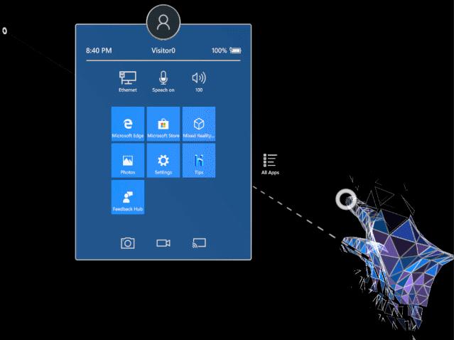 HoloLens仿真器手把手教程:如何在6分钟内创建1款HoloLens应用?