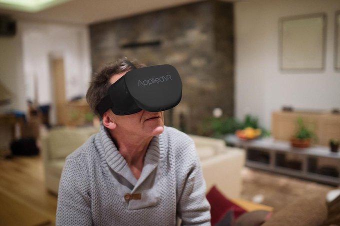 AppliedVR宣布其VR医疗平台获美国FDA奖项,有望尽快将其疼痛疗法推向市场