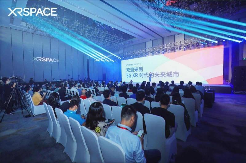 XRSPACE发布XRSPACE MANOVA VR一体机及虚拟世界,成立XR未来城市联盟