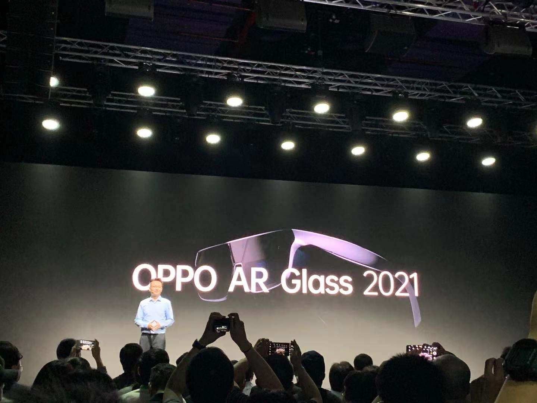 OPPO发布分体式AR眼镜OPPO AR Glass 2021,AR开发者计划将于2021年正式启动