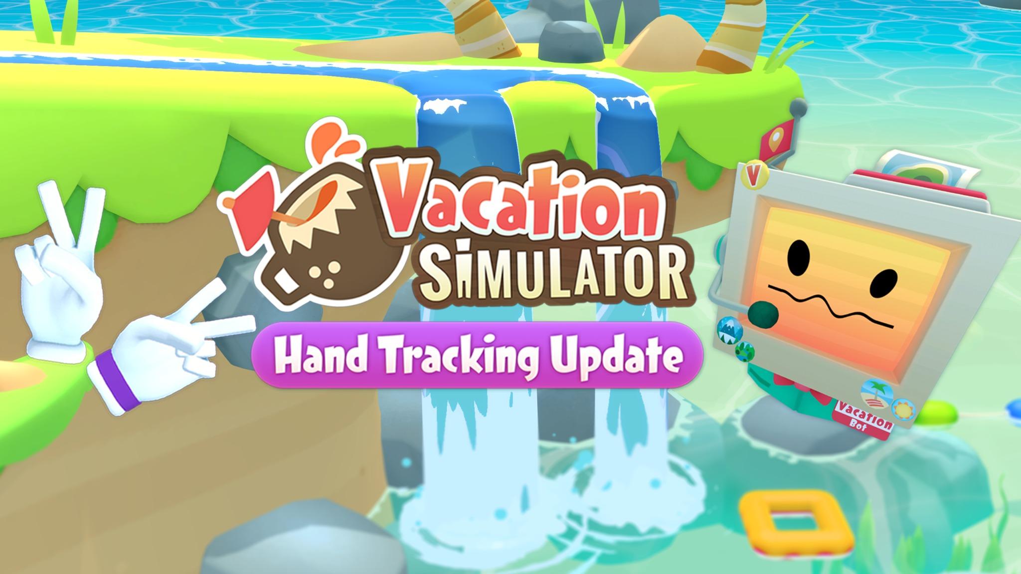 《假期模拟器》增加Quest手部追踪支持