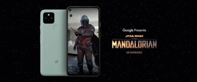 Google推出《曼达洛人 AR体验》应用,粉丝可与真人大小的角色互动
