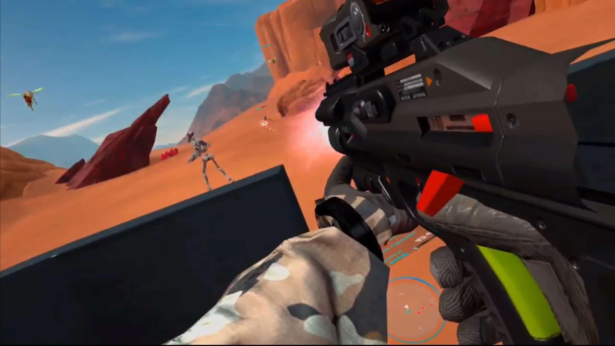 VR科幻射击游戏《Guardians》即将登陆Oculus Quest和PC VR