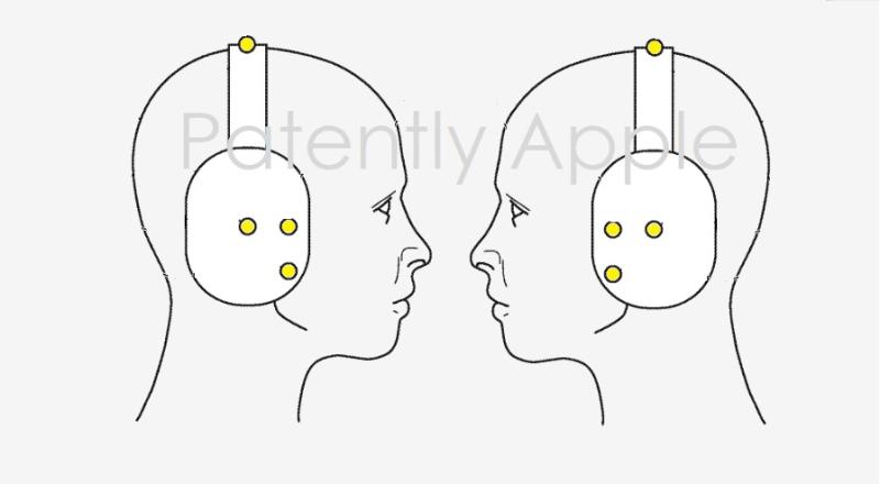 苹果新专利:可用于HMD、头戴式耳机及AirPods的生物认证传感器