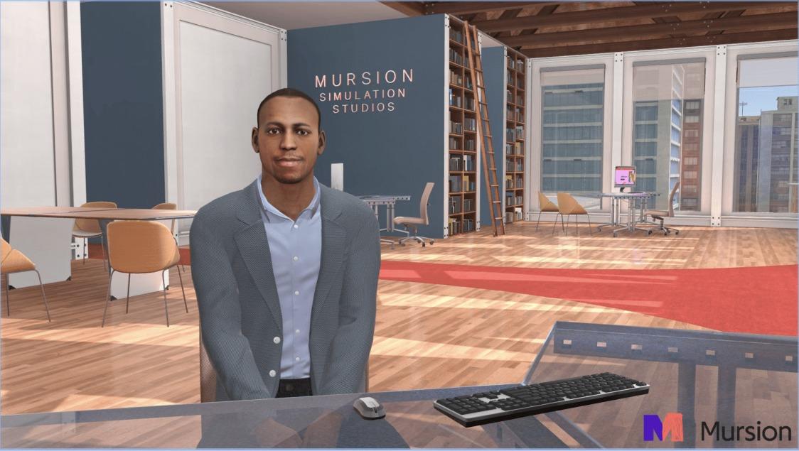 沉浸式VR培训创企Mursion宣布完成2000万美元B轮融资