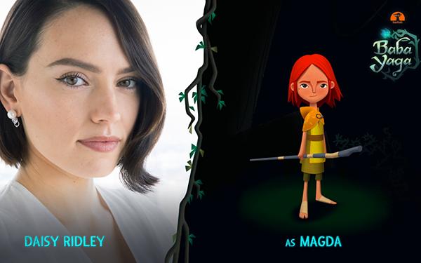 由《泰坦尼克号》女主与《星球大战8》蕾伊扮演者出演的VR电影《Baba Yaga》将独家上线Quest