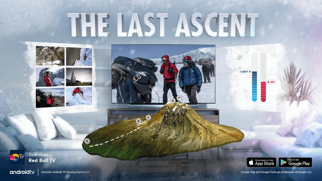 环保纪录片《最后一次攀登》利用AR技术同步流媒体影片内容