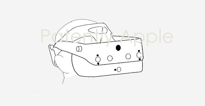 苹果2项HMD专利曝光,或将包含散热及局部光学调节显示系统