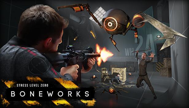 《Boneworks》更新地图和交通工具等新内容,以致敬多人对战VR游戏《Hover Junkers》