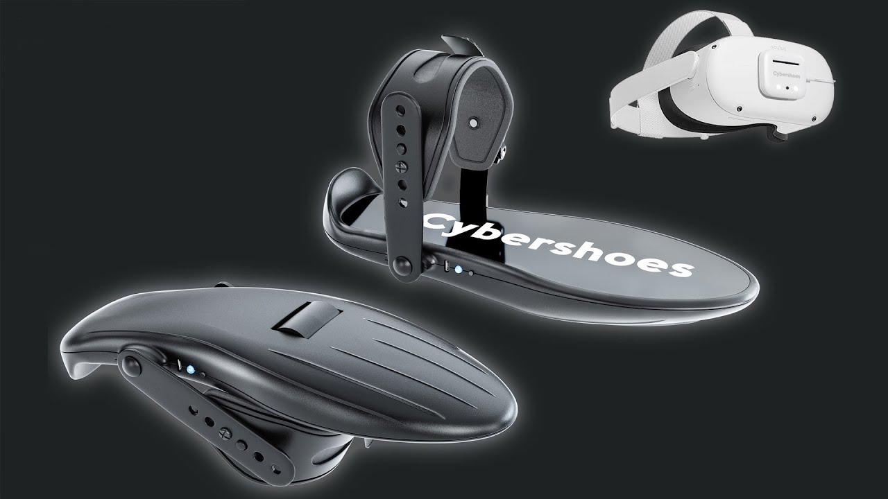 坐姿行走VR控制器Cybershoes众筹金额超9.8万美元,高出目标三倍