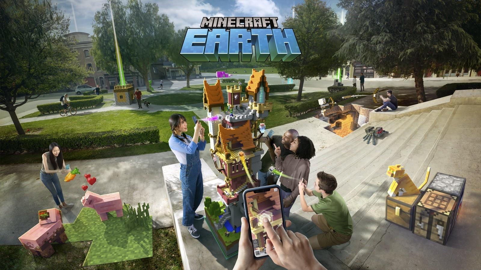 微软将于2021年6月下线AR游戏《我的世界:地球》