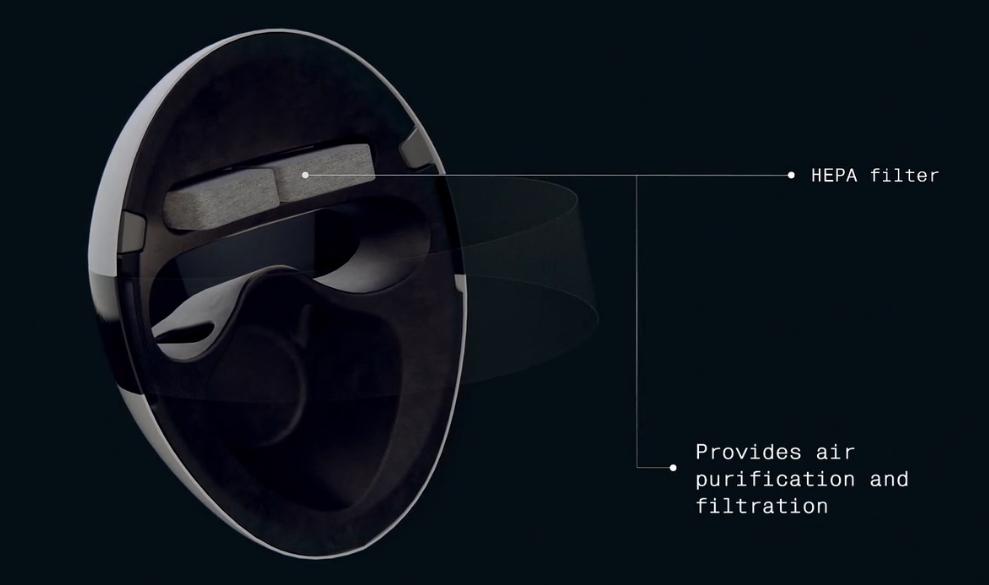 """日本发布支持AR的""""全罩式口罩"""" ,防护功能不输N95口罩"""