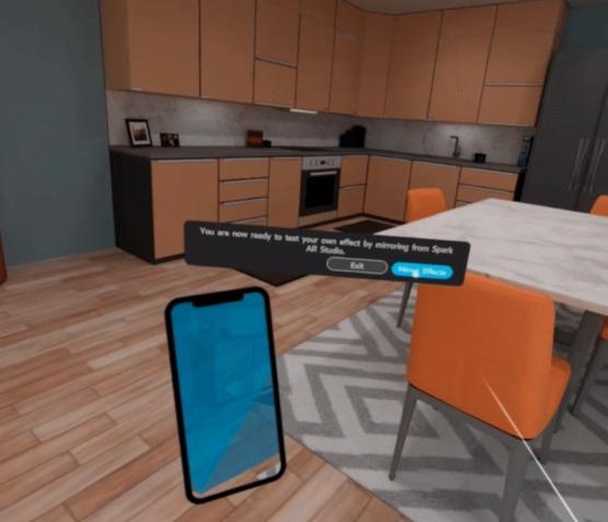 开发人员现在可以使用Oculus Quest对 Spark AR效果进行虚拟测试