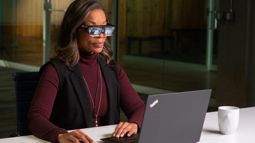联想发布新款ThinkReality A3 AR眼镜,可连接PC及智能手机使用